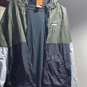 VS pink windbreaker jacket